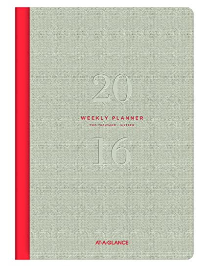 AT-A-GLANCE Weekly and Monthly Planner 2016, Collection, 5.5 x 8.25 Inches Page Size (YP1060716)