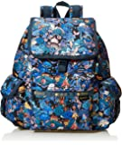 Lesportsac 女式 双肩背包 7839K565 蓝色/绿色/黄色/黑色