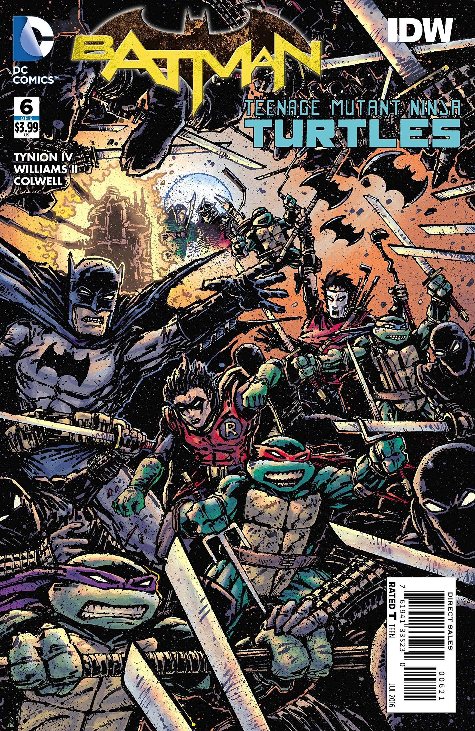 Batman Teenage Mutant Ninja Turtles #6 Variant: DC Comics ...