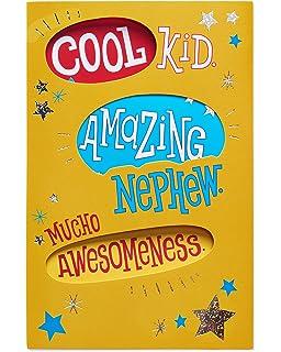 American Greetings Cool Kid Birthday Card For Nephew