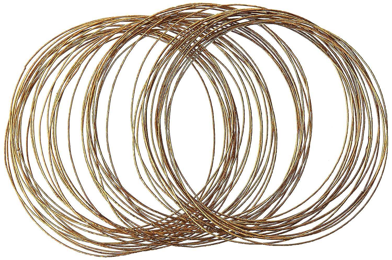 Forum Novelties B0097B5620 Gold Bangles 50