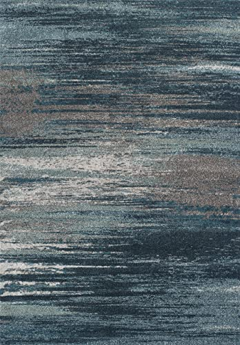 Dalyn Rugs Modern Greys Rug, 7 10 x 10 7 , Teal
