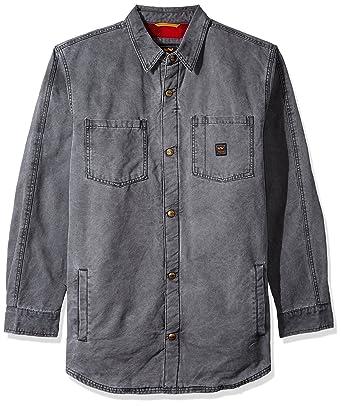 fef086177 Walls Men's Bandera Vintage Duck Shirt Jacket Big-Tall