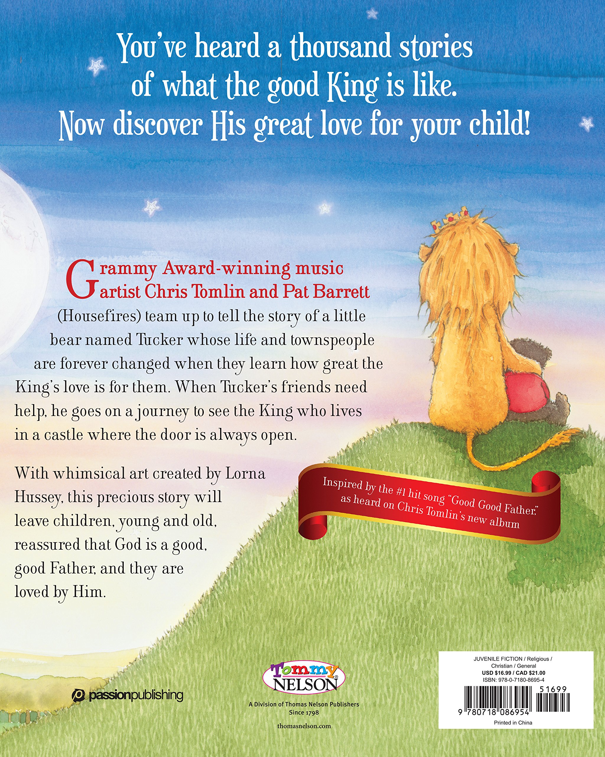 amazon com good good father 9780718086954 chris tomlin pat
