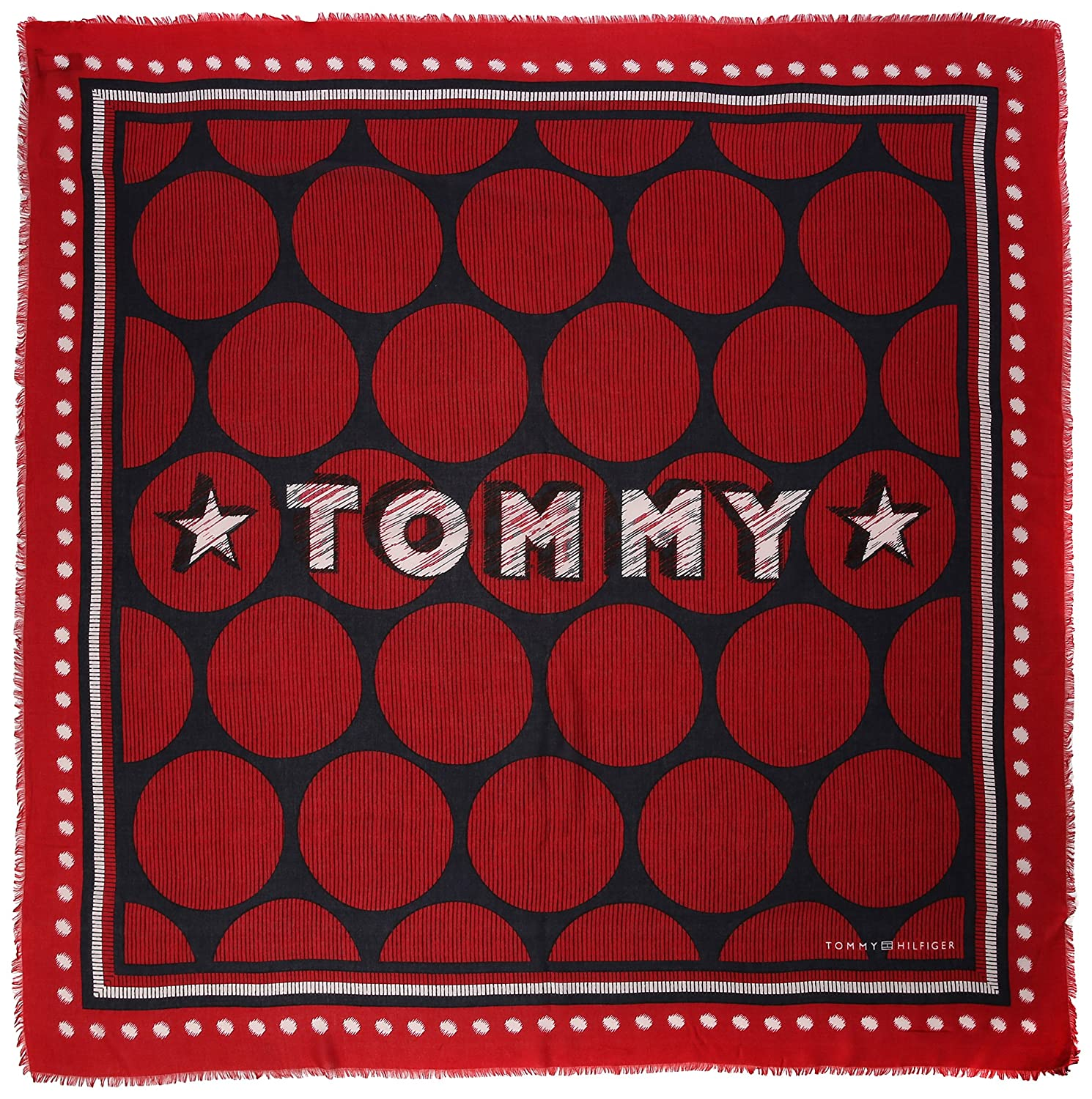 Tommy Hilfiger Team Tommy Square Foulard Donna