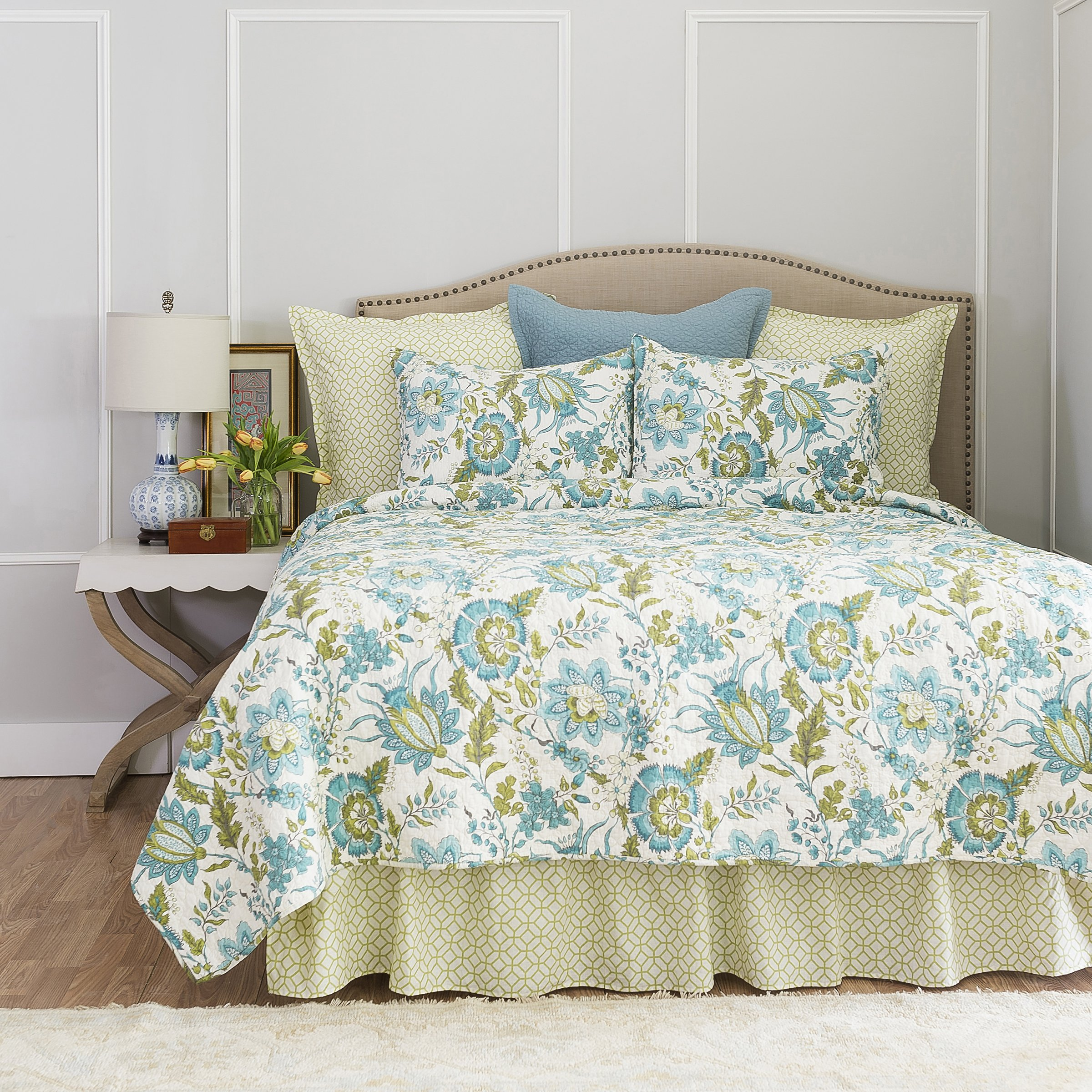 Adrienne Meadow Full/Queen Quilt by C&F Home