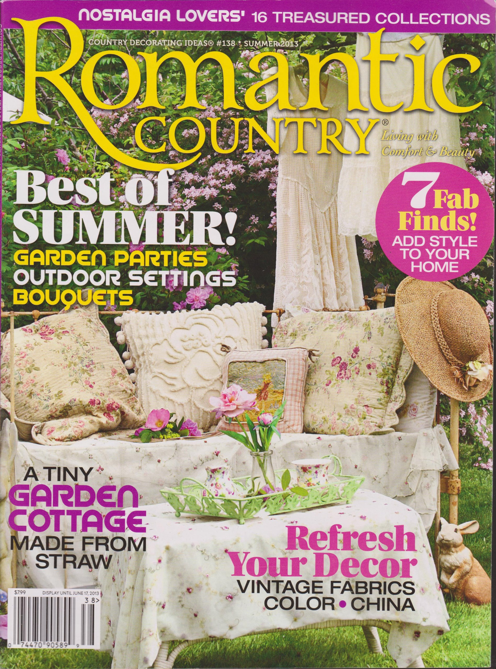 Download Romantic Country Magazine Summer 2013 pdf