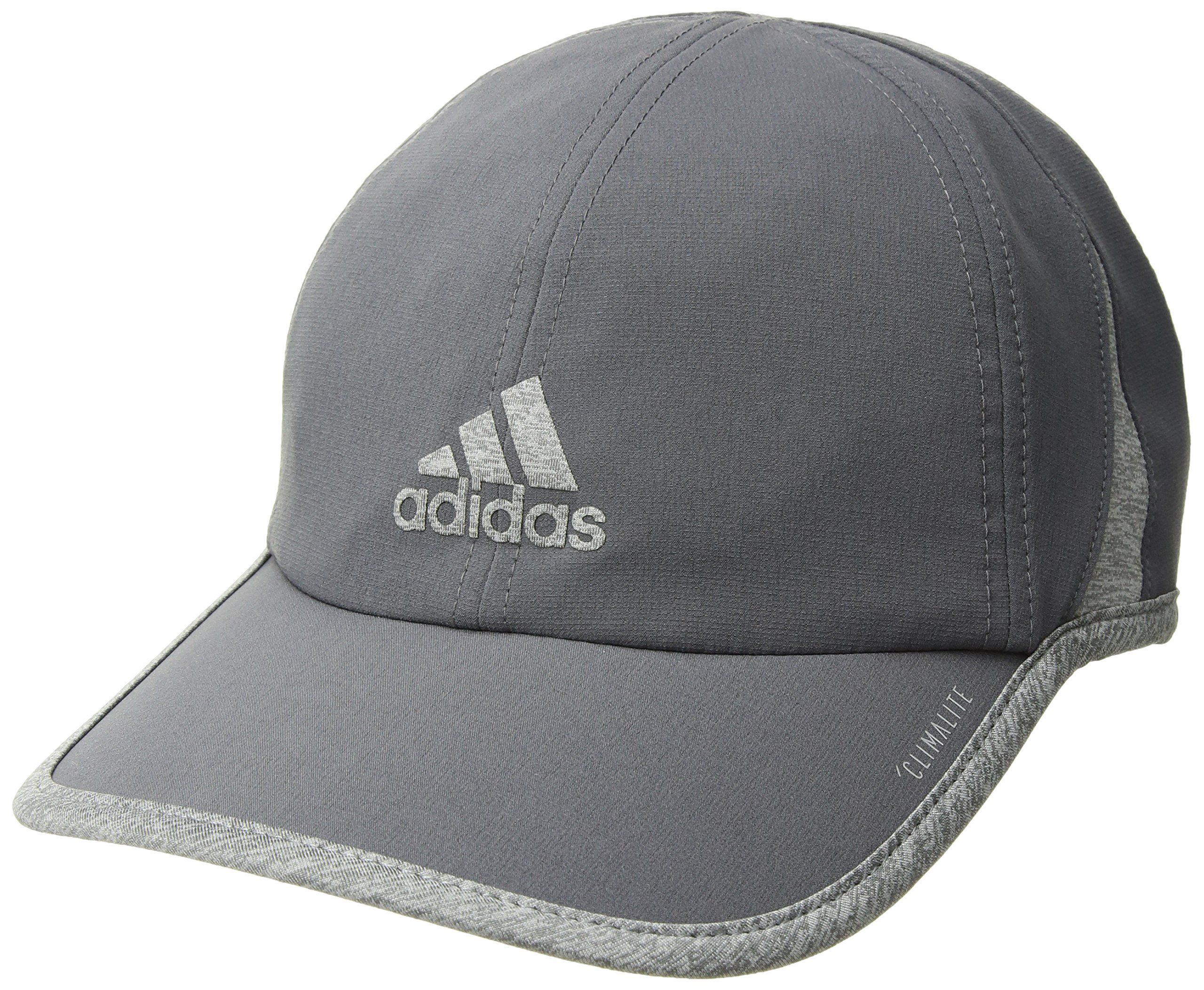 adidas Men's Superlite Relaxed Adjustable Performance Cap, Onix/Light Heather Grey, One Size