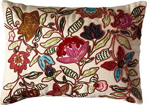 Collier Campbell Leopard Trail Decorative Pillow, 12 by 16-Inch