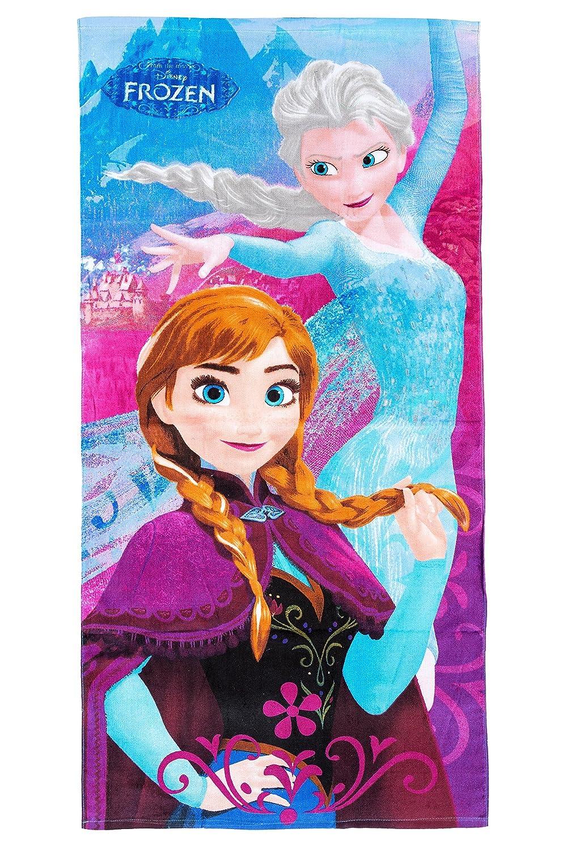Disney Frozen Frozen de toalla de playa/toalla ANNA y Elsa, 70 x 140 cm, Original licencia oficial: Amazon.es: Hogar