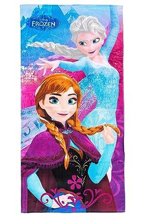 Disney Frozen Frozen de toalla de playa/toalla ANNA y Elsa, 70 x