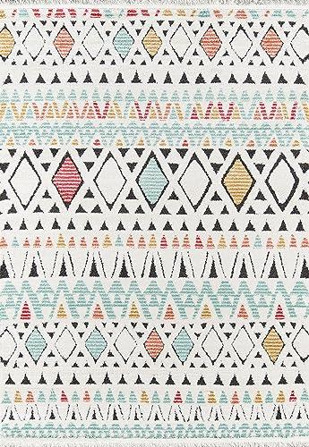 Momeni Monaco Polyester Area Rug, 9 10 X 12 10 , Multi