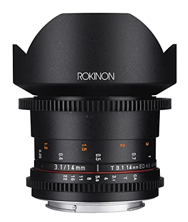Review Rokinon Cine DS DS14M-N