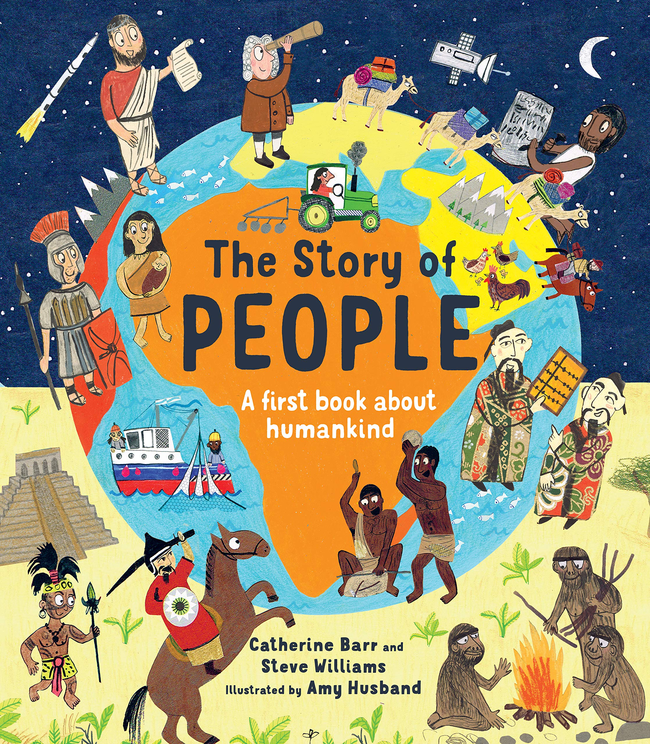 Be Wary Of Studies Incredible Tale Of >> The Story Of People Amazon Co Uk Catherine Barr Steve Williams