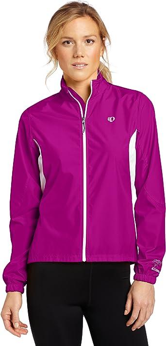 NWT Pearl Izumi Women's Ultra Barrier WXB Hoodie Jacket Pink Purple Medium