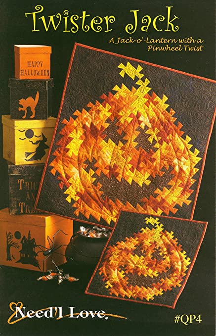 Amazon Twister Jack Quilt Pattern A Jackolantern With A Best Twister Quilt Pattern