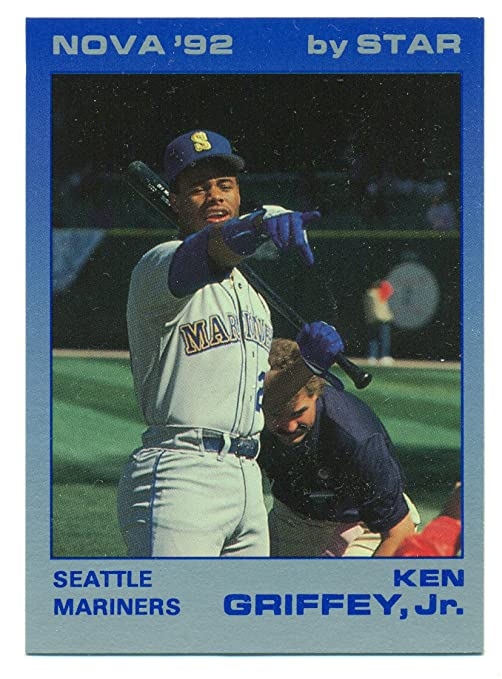 3f6b242059 Image Unavailable. Image not available for. Color: 1992 Star Nova '92 Ken  Griffey Jr. Complete 9 Card ...