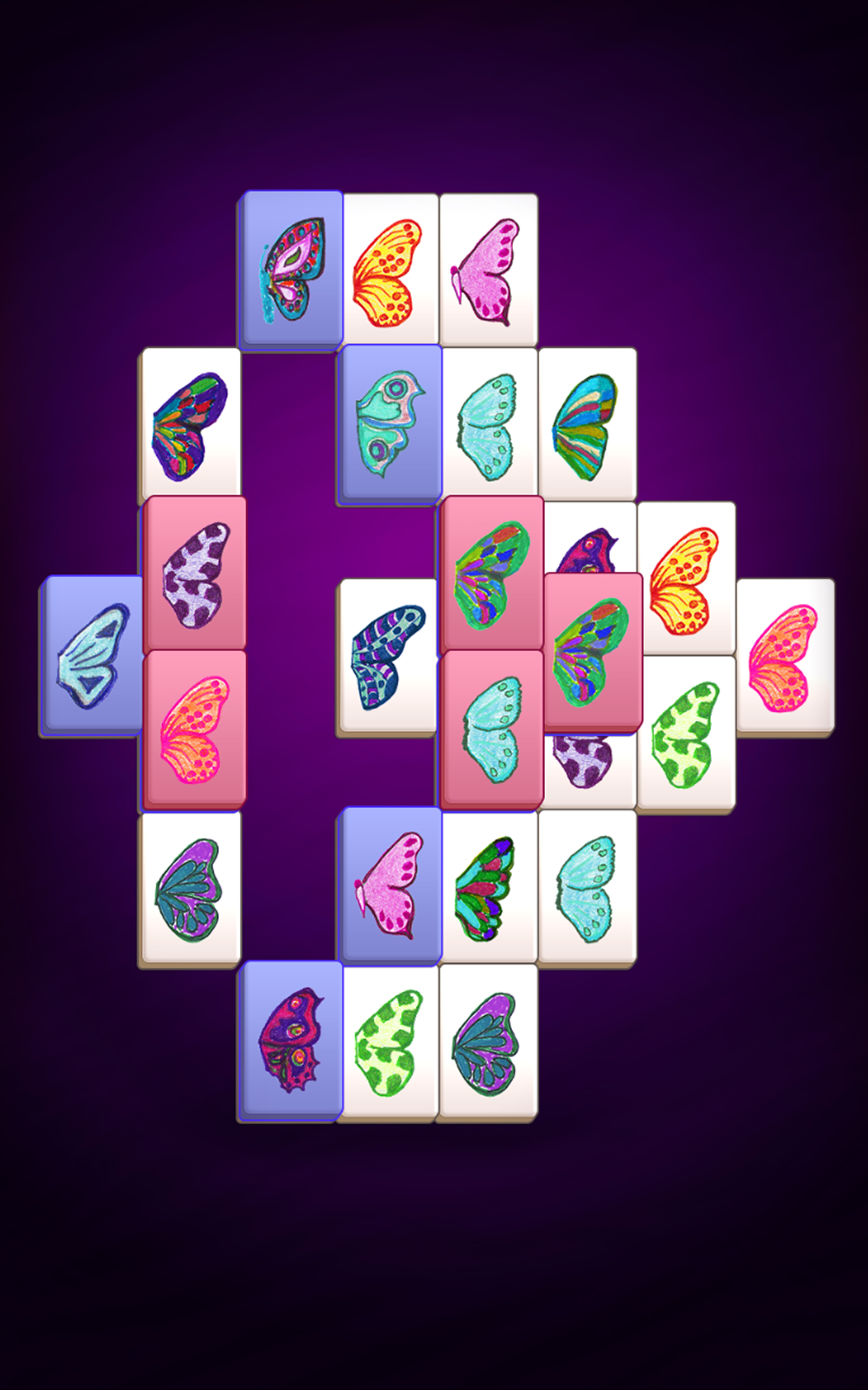 Butterfly Kyodai Full Screen - Play Free Games Online at