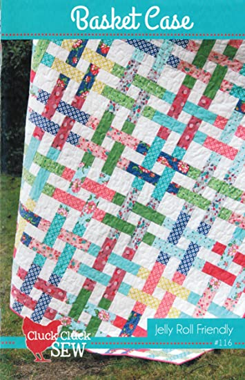 Amazon Basket Case Quilt Pattern Jelly Roll 25 Inch Strip Set