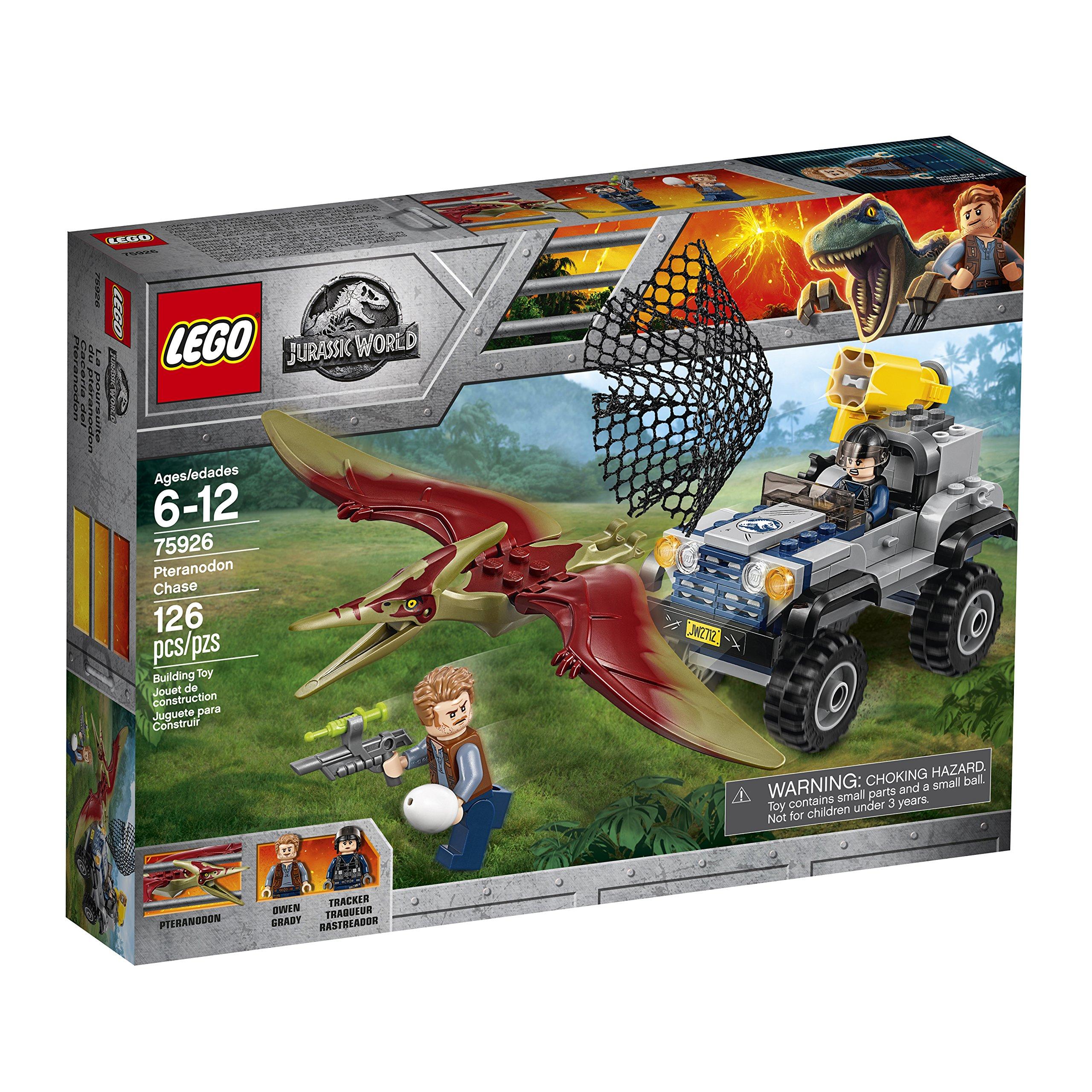 LEGO Jurassic World Pteranodon Chase 75926 Building Kit (126 Piece) by LEGO (Image #4)
