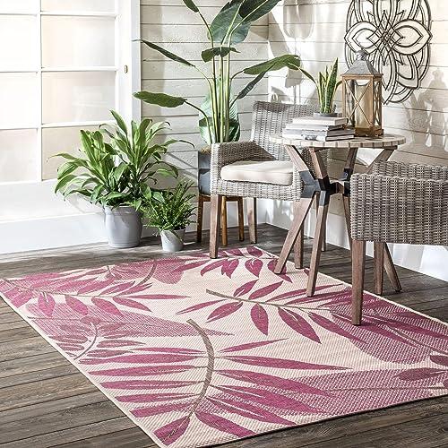 nuLOOM Rylie Contemporary Indoor/Outdoor Area Rug