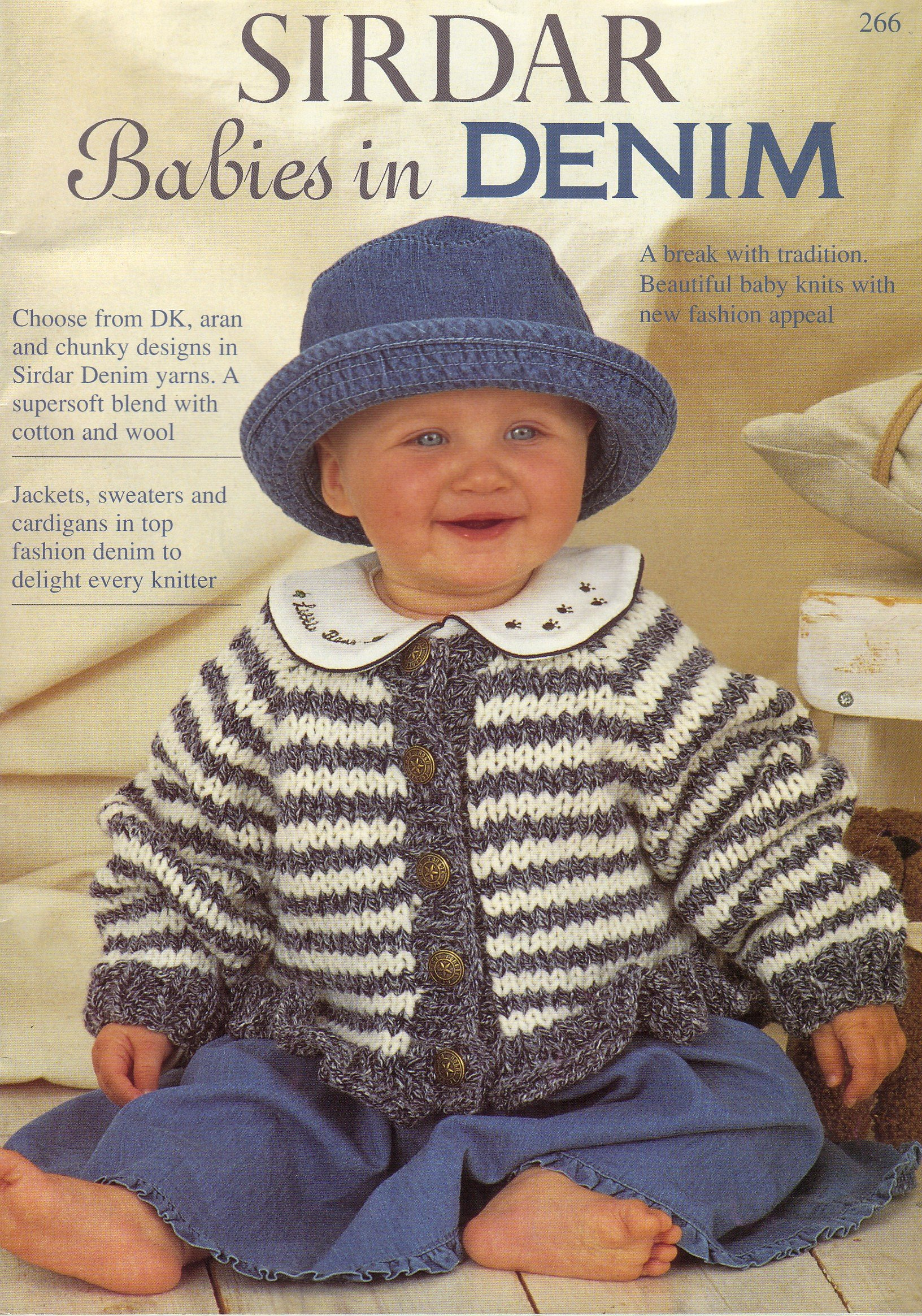 Sirdar babies in denim babys and childrens 10 knitting pattern sirdar babies in denim babys and childrens 10 knitting pattern booklet cardigans sweaters jackets tunic hat 7 sizes from birth to age 8years bankloansurffo Image collections