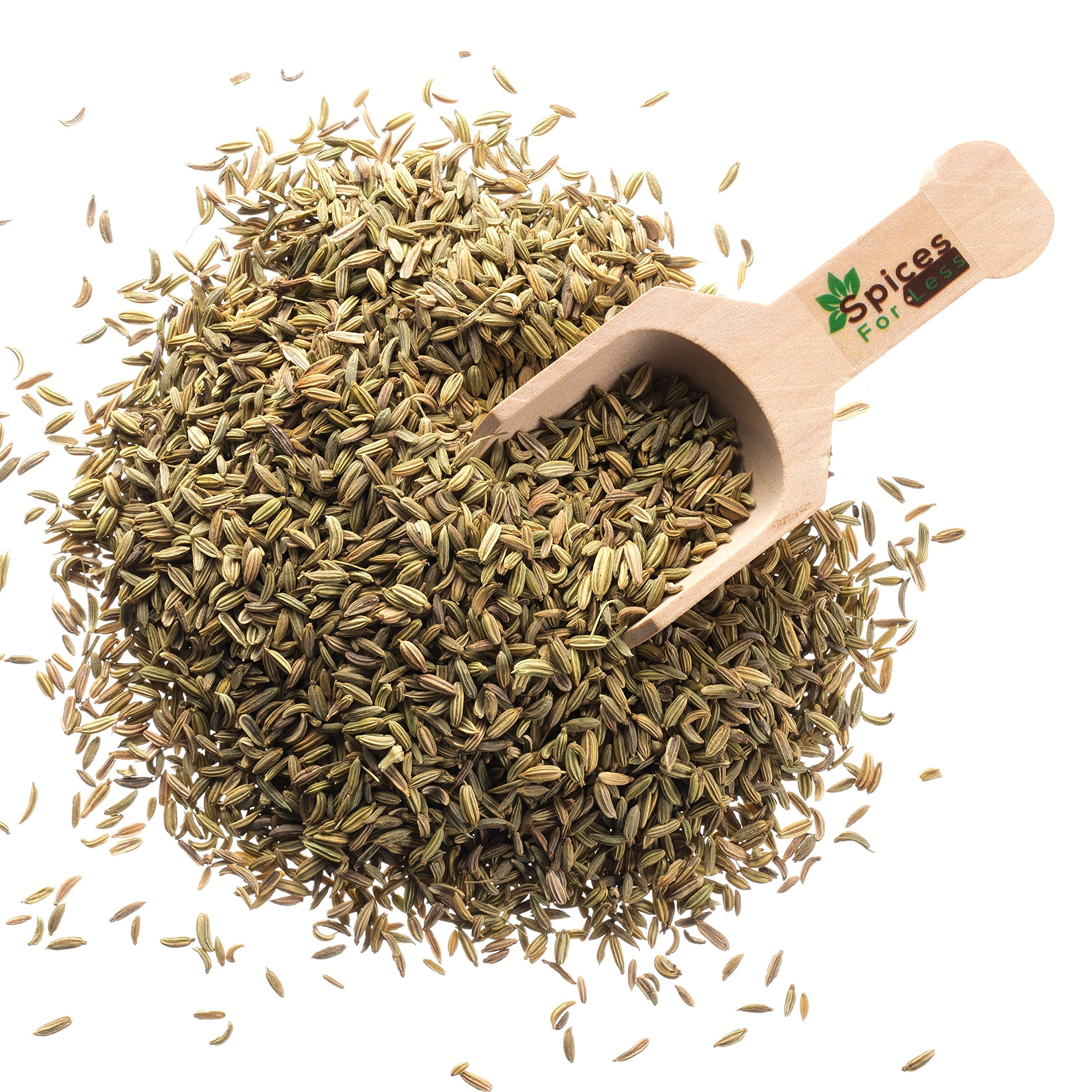 Fennel Seeds, Whole - 50 lbs Bulk