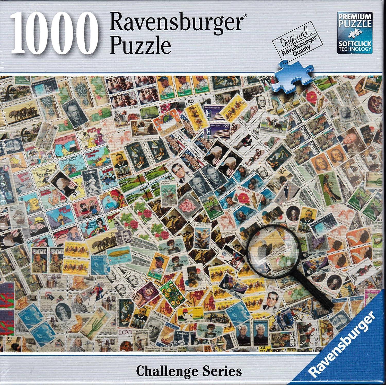 Amazon Com Ravensburger Stamp Challenge 1000 Piece Puzzle Toys Games