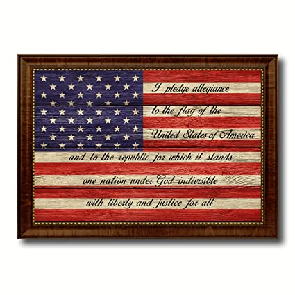 Amazon The Pledge Of Allegiance American Usa Flag Texture