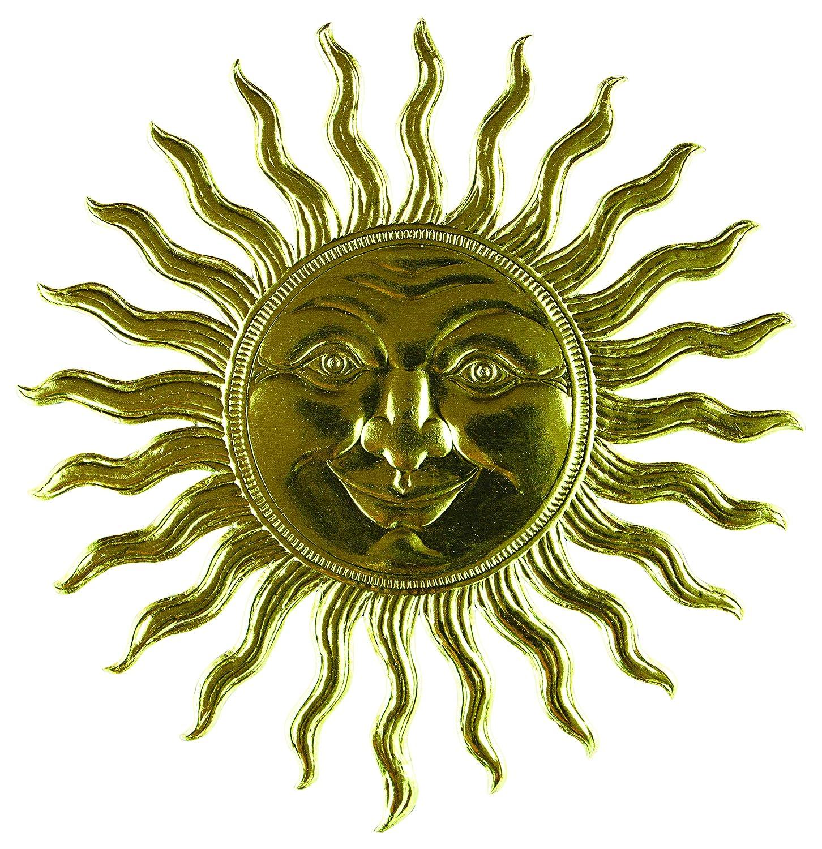 Prima sol Marketing sol Prima Dresden papel adornos, tamaño grande, dorado de1520