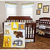 Trend Lab Let's Go Camping 3 Piece Crib Bedding Set
