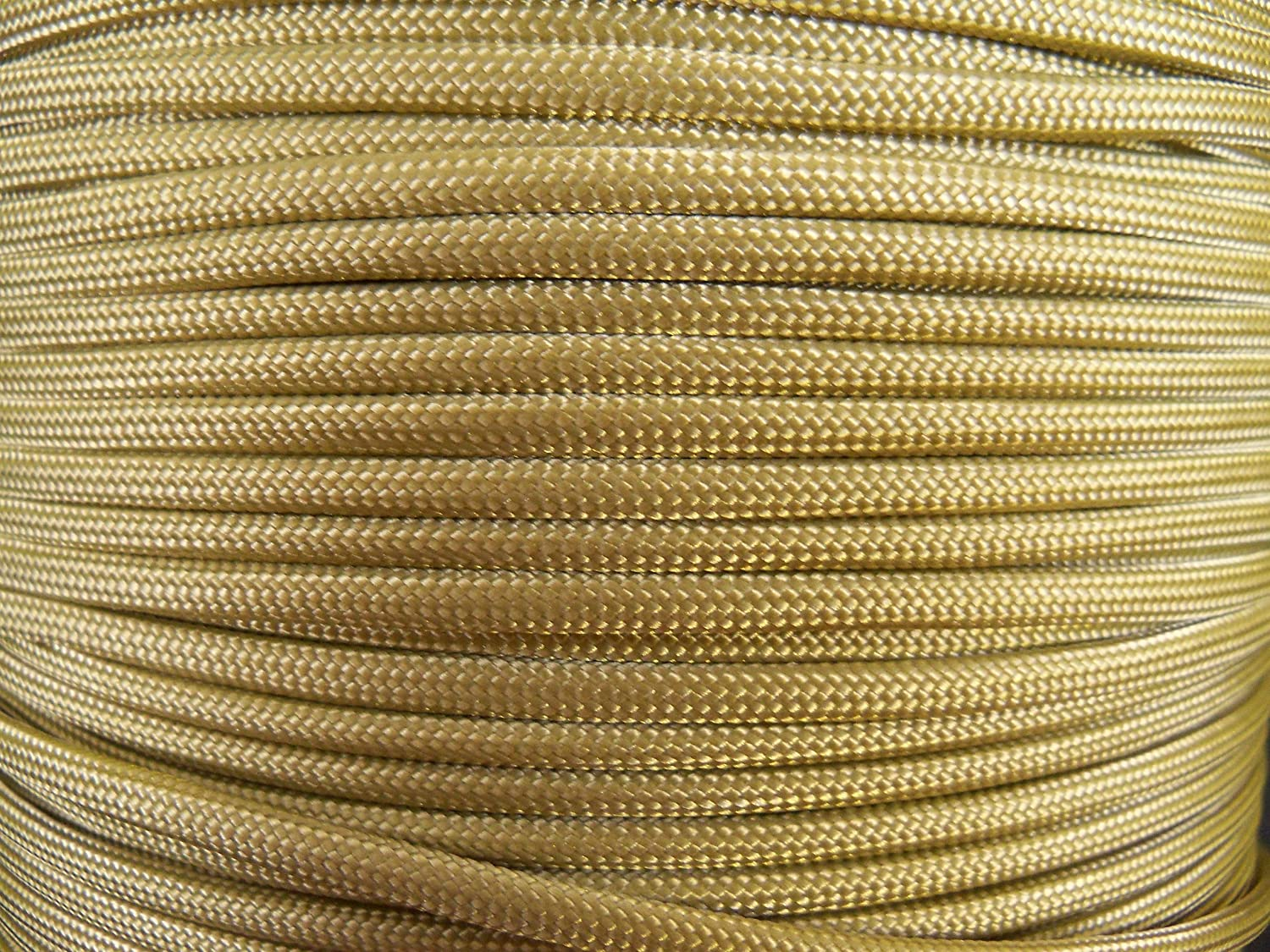Paracord Craft Cord Gold Parachute Cord 16ft Generic