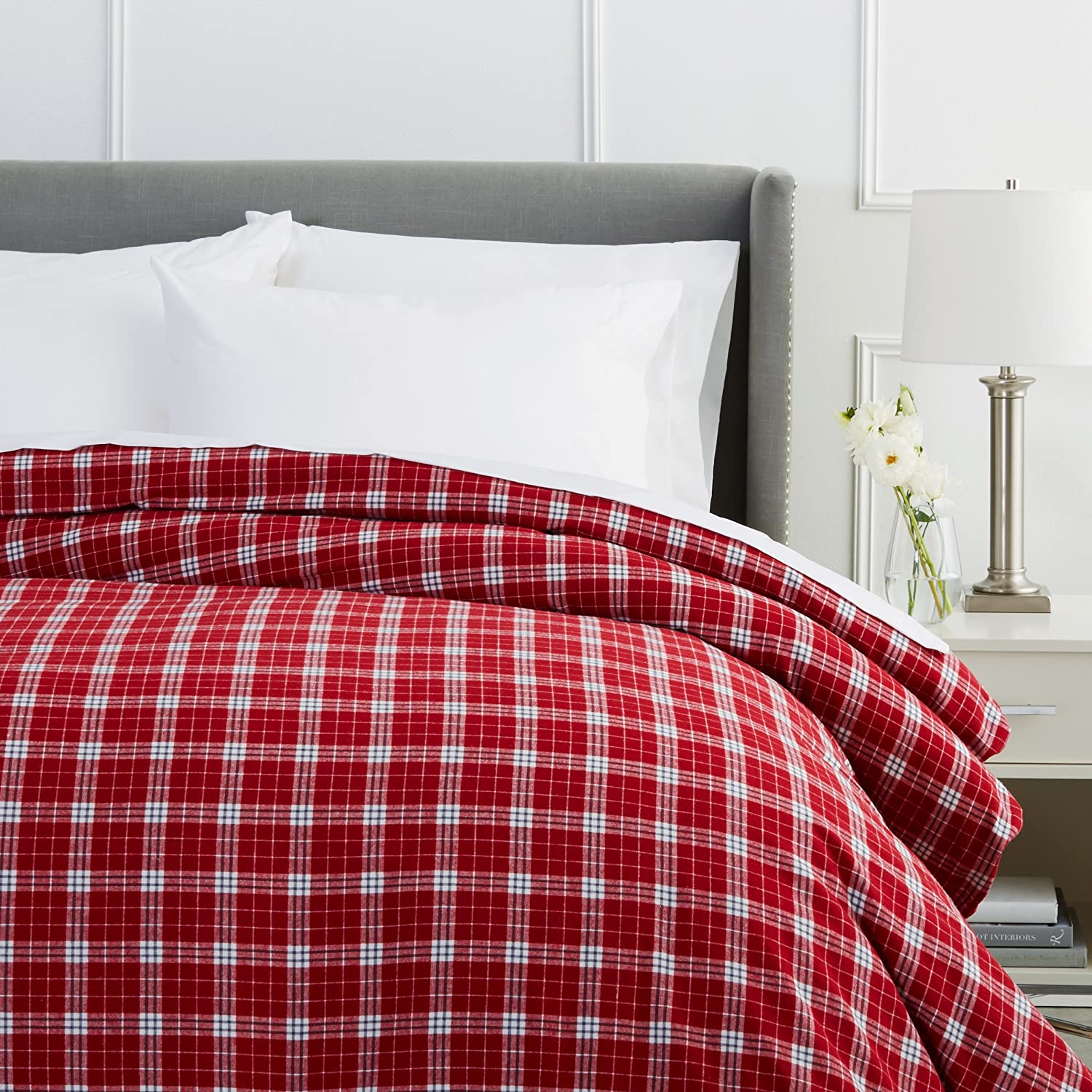 piece plaid comforter multiple a red bedding grey mainstays plus duvet bag sizes in bed com cover ip set walmart