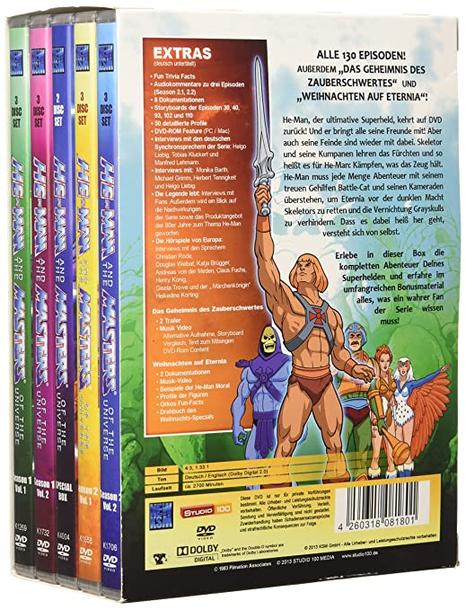 Amazon.com: He-Man and the Masters of the Universe ...