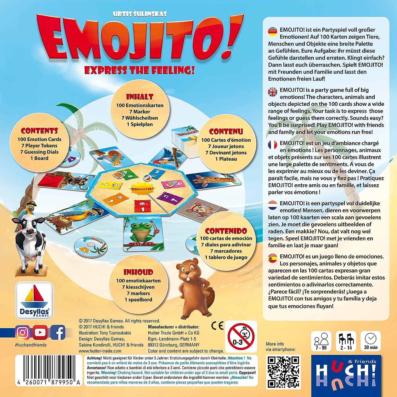 Amazon.com: Emojito! - von Huch! deutsche Ausgabe: Toys & Games