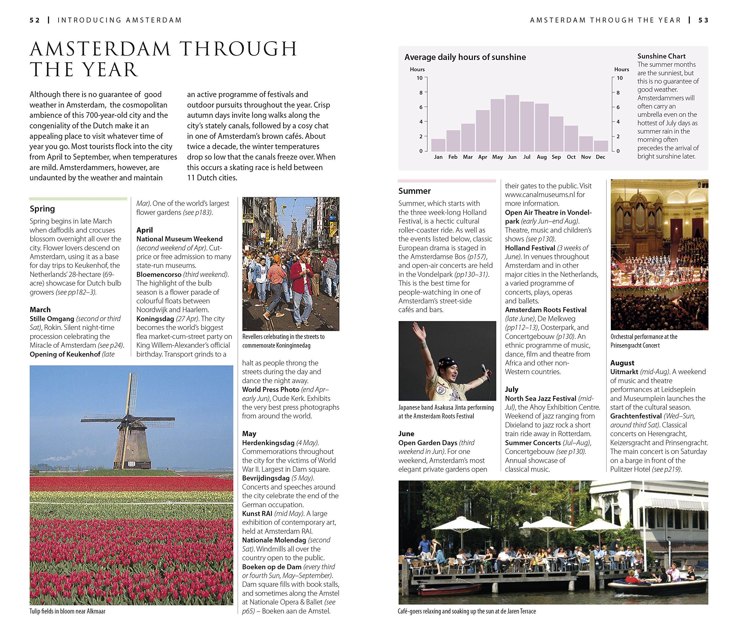 DK Eyewitness Travel Guide Amsterdam: DK Travel: 9781465439475: Amazon.com:  Books