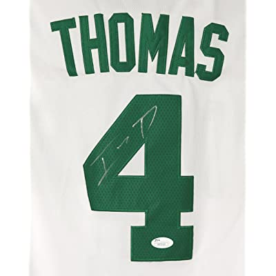 quality design d4a03 2d369 Isaiah Thomas Boston Celtics Signed Autographed White #4 ...