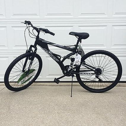 Dual Suspension Mountain Bikes Walmart >> Generic 26 Hyper Havoc Full Suspension Men S Mountain Bike Black