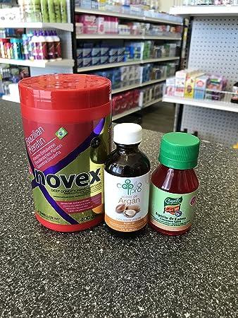 Amazon.com : Novex Brazilian Keratin, Capilo Argan Oil, Capilo Cinnamon Oil : Beauty