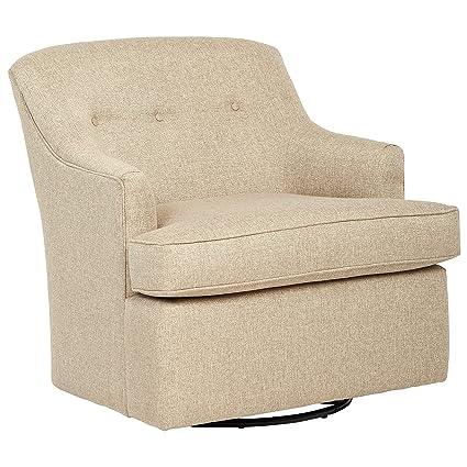 Sensational Amazon Com Stone Beam Wolcott Swivel Chair Fabric 33W Short Links Chair Design For Home Short Linksinfo
