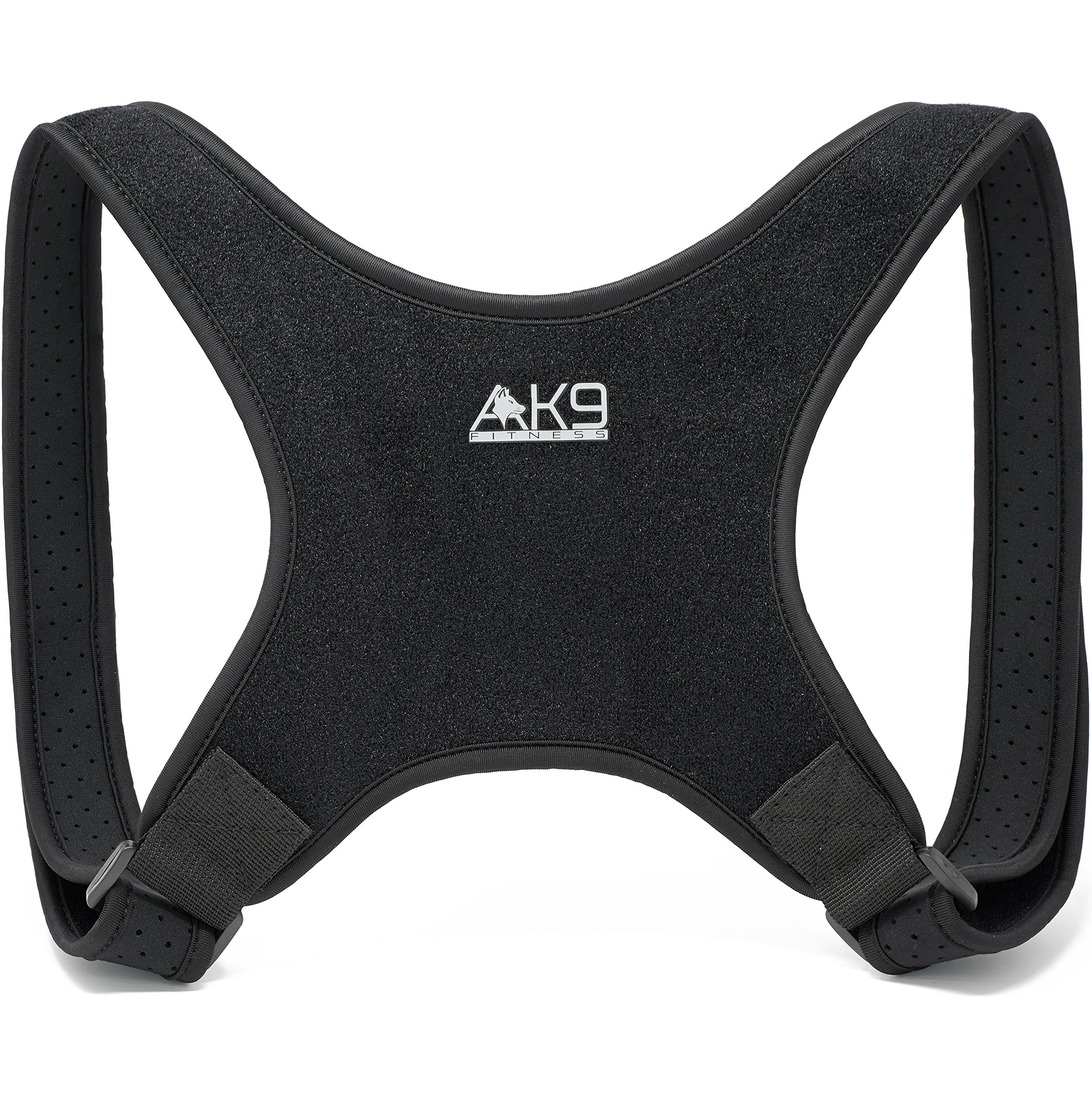 Posture Corrector for Women and Men - Thinner Straps Eliminate Underarm Discomfort! Adjustable Shoulder Brace to Fix Forward Head Posture/Kyphosis for Back & Neck Pain Relief - Invisible Under Clothes