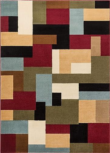 nuLOOM Lauren Lattice Shag Rug, 4 x 6 , Grey