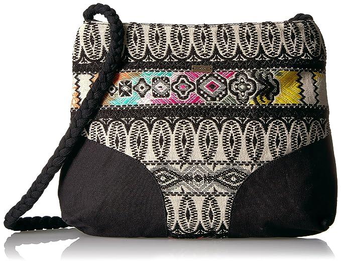 Amazon.com: Roxy sensación de esta manera bolsa bolsa, negro ...