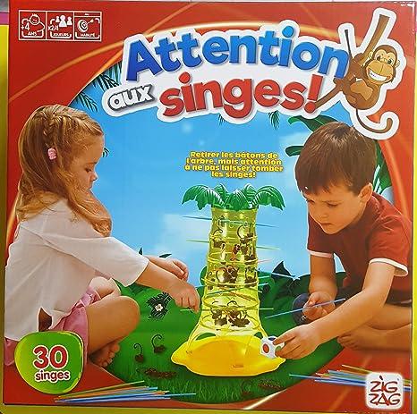 Salva le Scimmie Gioco da Tavolo regalo interattivo bambini bimbi Mattel 52563