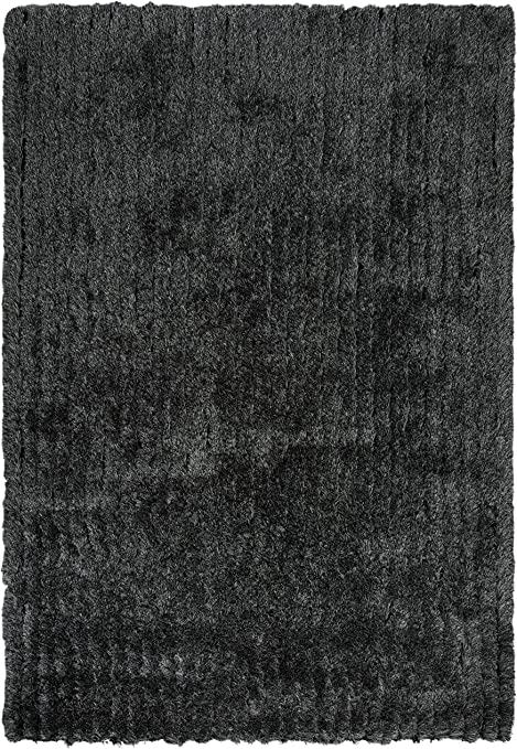 Amazon Com Rizzy Home Dora Collection Polyester Area Rug 7 6 X 9 6 Black Gray Rust Blue Furniture Decor