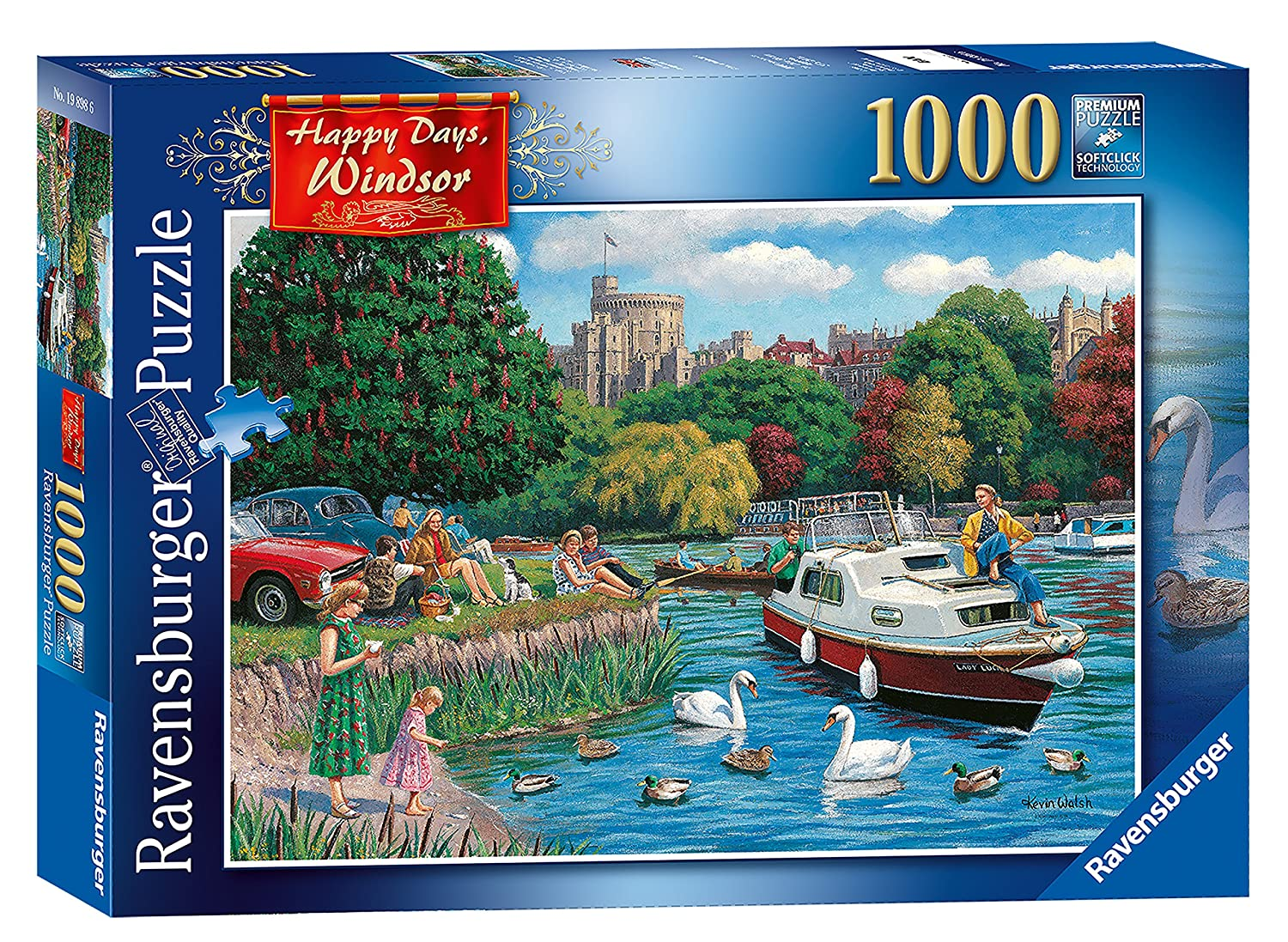 【お買い得!】 Ravensburger Happy Happy Days - B078S6WFCL Windsor 1000pcジグソーパズル Days B078S6WFCL, 鳥栖市:29351890 --- a0267596.xsph.ru