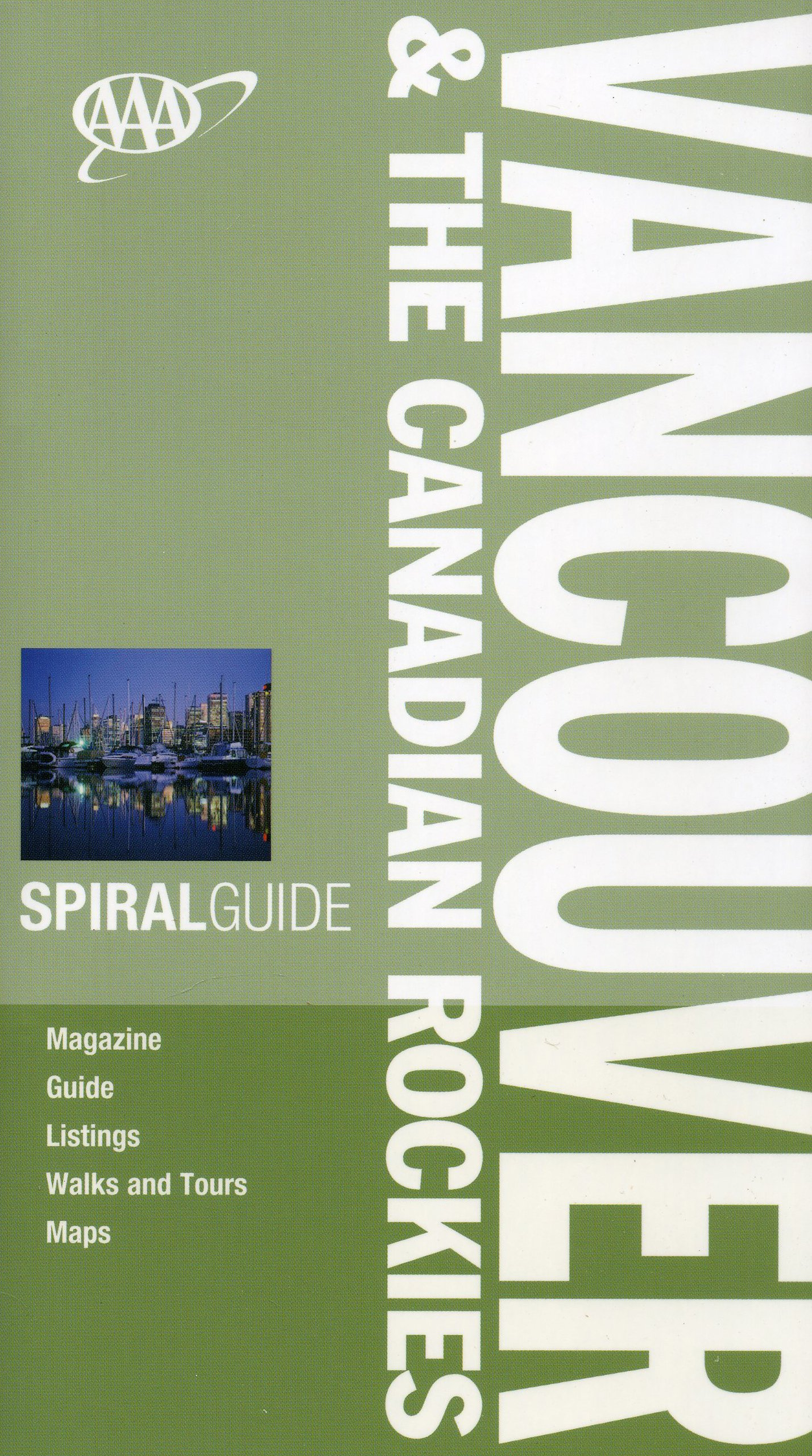 Read Online AAA Spiral Vancouver and The Canadian Rockies (AAA Spiral Guides) ebook