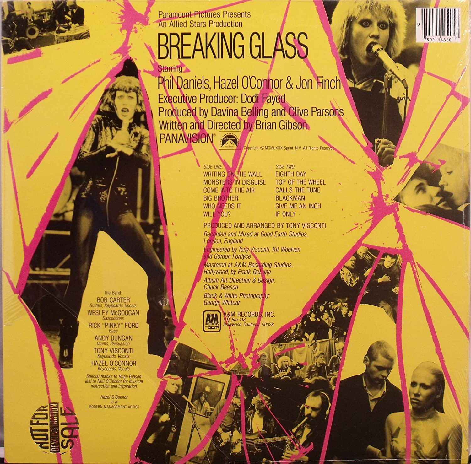 Breaking glass (US, 1980) / Vinyl record [Vinyl-LP] - Amazon.com Music