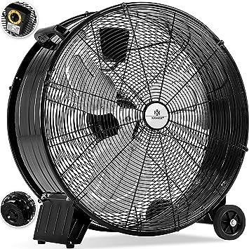 Kesser KE-60 - Ventilador industrial de suelo, ventilador de ...