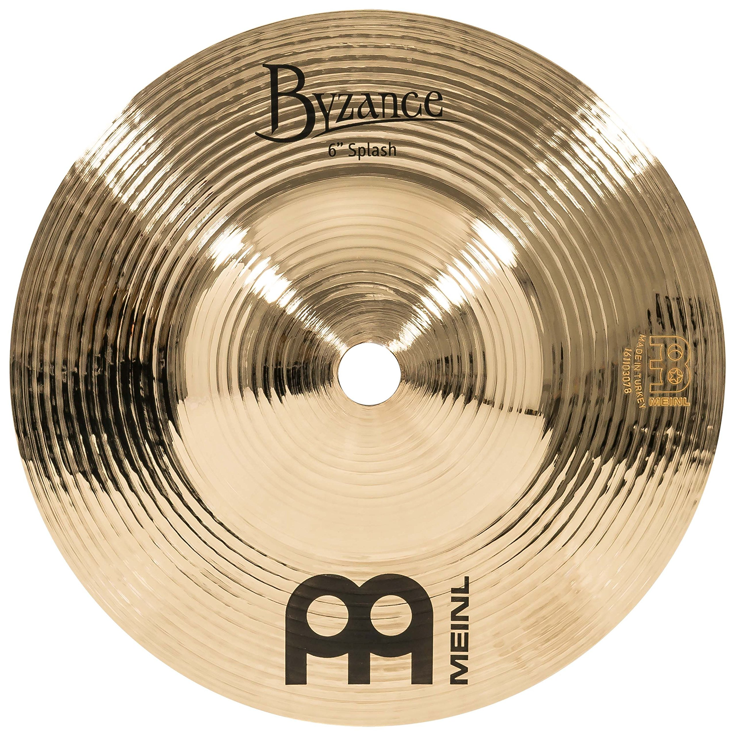 Meinl Cymbals B6S-B Byzance 6-Inch Brilliant Splash Cymbal (VIDEO) by Meinl Cymbals